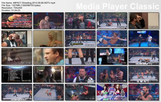 TNA IMPACT 6 SEPT 2012