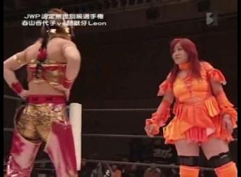 07 - Kayoko Haruyama vs. Tojuki Leon.avi_000277877