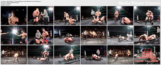 Doug Williams vs Alex Shelley3x6