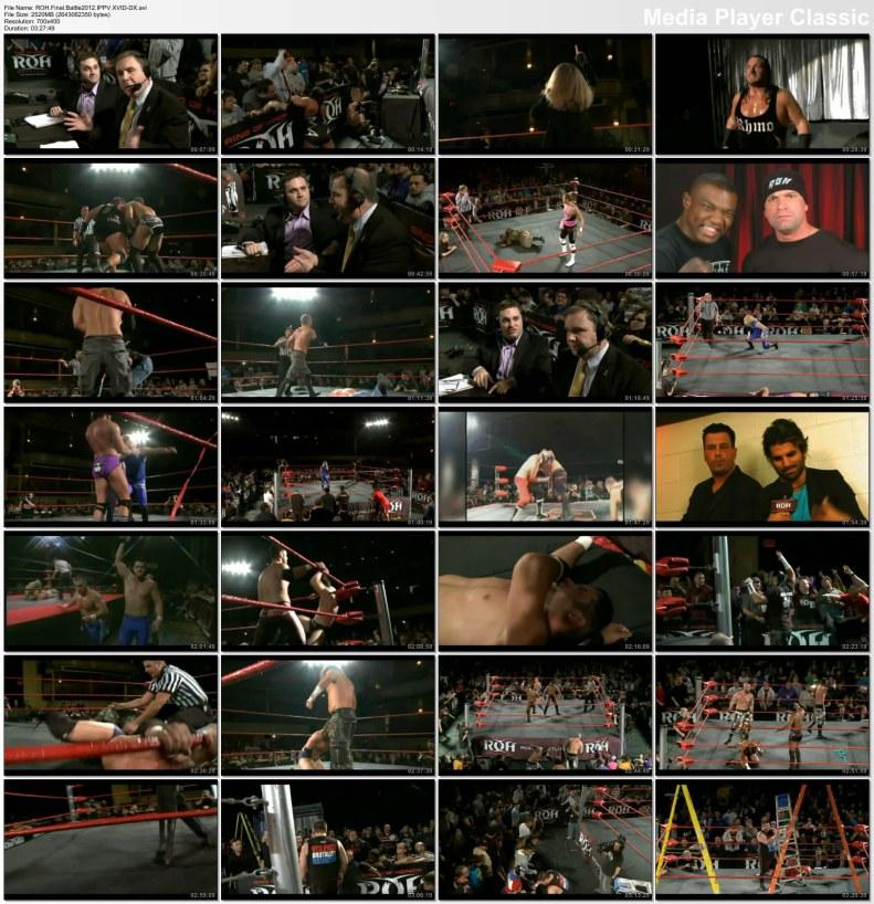 ROH- Final battle 2012