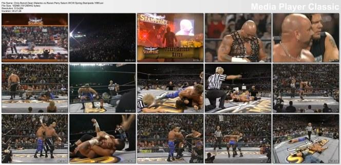 WcW Malenko Benoit vs Raven Saturn3x5