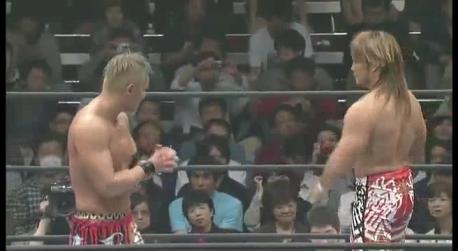 NJPW Invasion Attack - IWGP Heavyweight Championship - Hiroshi Tanahashi (c) vs. Kazuchika Okada - April 7 2013.avi_000657657
