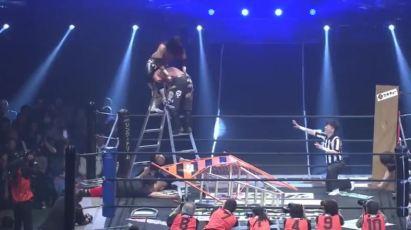 Jun Kasai (c) vs. Daisuke Sasaki DDTJudgement2017.mp4_20170704_115849.424